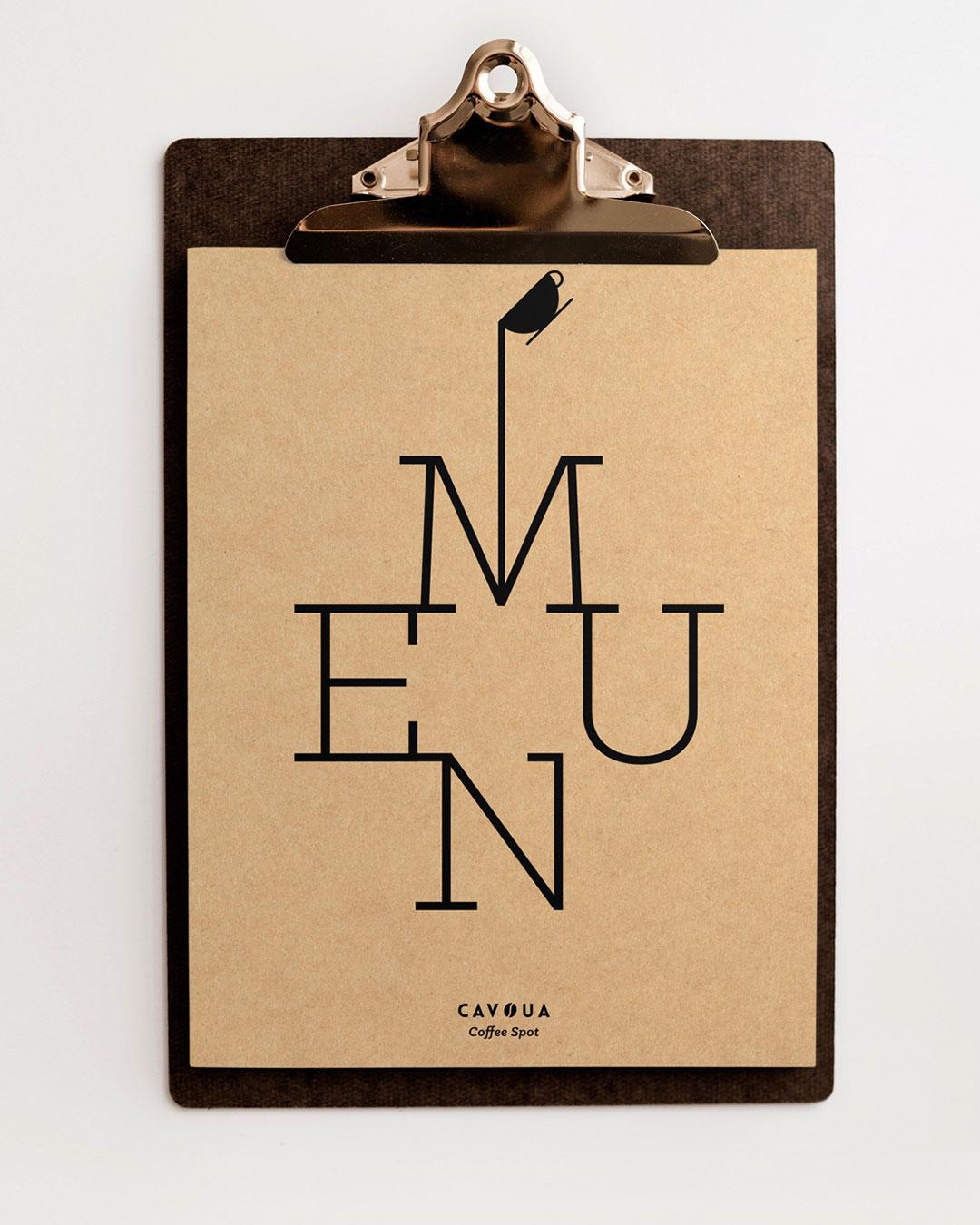 menu cavoua coffee shop