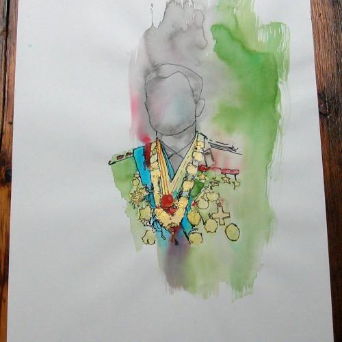 illustration à la main
