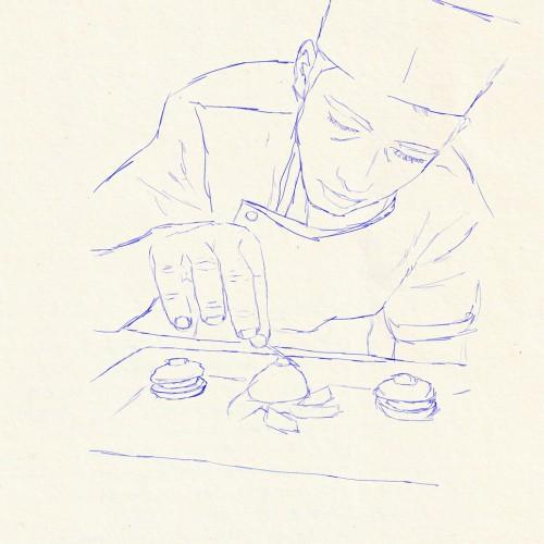 illustration cuisinier copyright kimkom